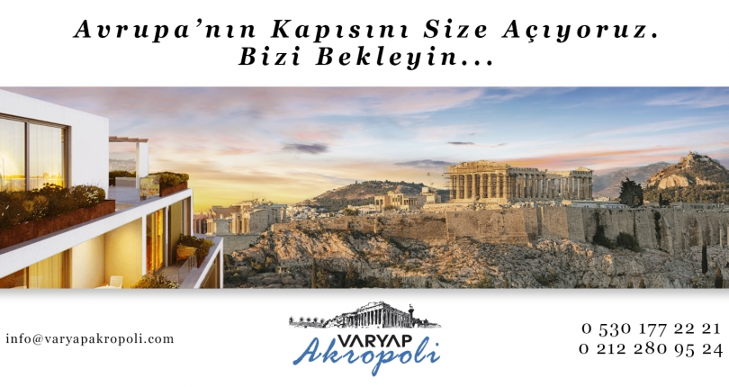 WE PROMİSE TO REMOVE THE BORDERS OF EUROPE FOR YOU WİTH THE MOST PRESTİGİOUS RESİDENTİAL PROJECT İN ATHENS